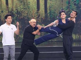 TV Show: Trường Giang 'bắn' tiếng Hàn khiến Việt Hương choáng váng