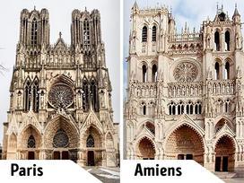 Bất ngờ vẻ đẹp của những công trình kiến trúc 'sinh đôi' nổi tiếng nhất thế giới
