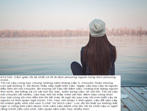 Cô gái chia sẻ yêu đơn phương người từng 'đơn phương' mình hút hơn 7 nghìn 'like'