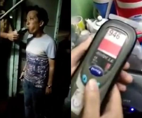 Clip: CSGT kiểm tra nồng độ cồn của Trường Giang, kết quả vượt ngưỡng cho phép-3