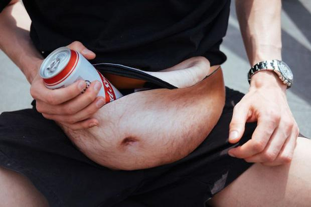 Túi đeo hông thần kỳ dành cho người gầy mà vẫn thích bụng bia-1