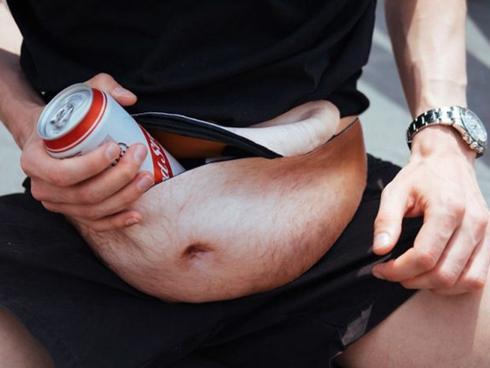 Túi đeo hông thần kỳ dành cho người gầy mà vẫn thích bụng bia