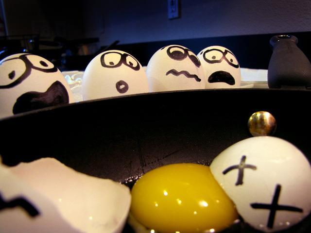 Nỗi đau của người đàn bà vỡ trứng