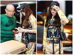 Thời trang sân bay 'cực chất' của Hoa hậu Kỳ Duyên khi tới Milan Fashion Week