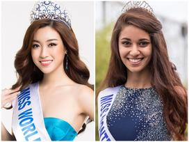 Đỗ Mỹ Linh bất ngờ thăng hạng ngoạn mục, đứng đầu bình chọn Miss World 2017