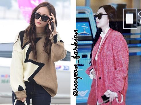 Cùng dự Milan Fashion Week, chị em Krystal - Jessica sang chảnh, Park Seo Joon bảnh bao với cây đồ hiệu
