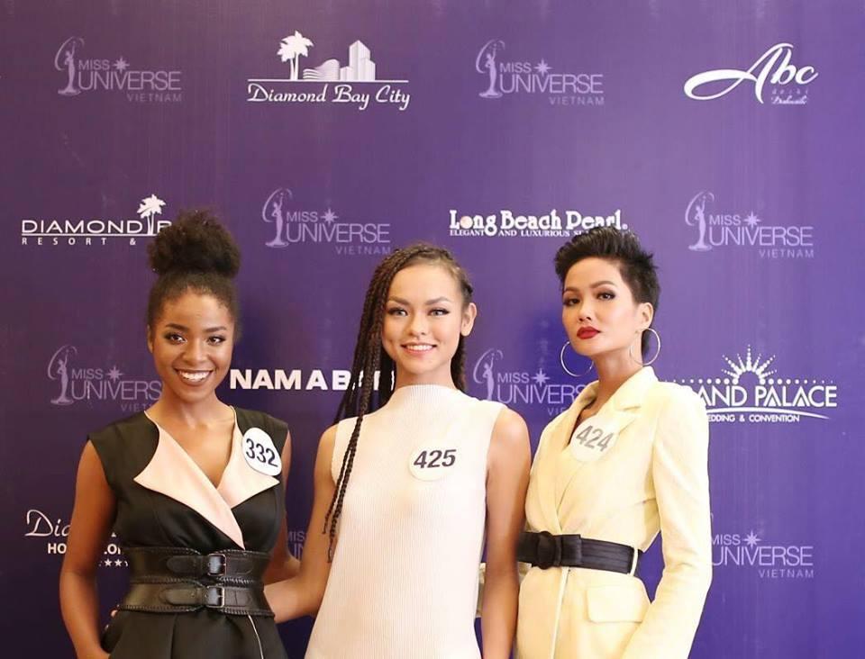 Nhan sắc đời thực của Cẩm Tiên - thí sinh gốc Phi gây tranh cãi nhất Hoa hậu Hoàn vũ 2017-4