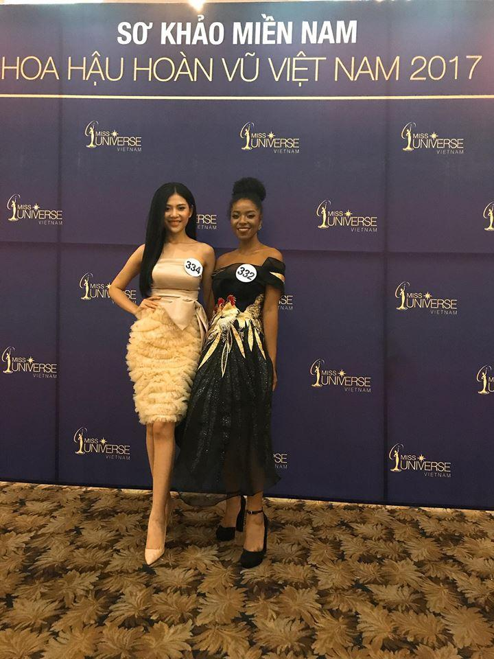 Nhan sắc đời thực của Cẩm Tiên - thí sinh gốc Phi gây tranh cãi nhất Hoa hậu Hoàn vũ 2017-1
