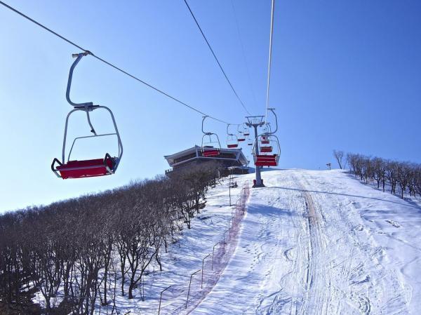 Lộ diện khu trượt tuyết tuyệt đẹp ở Triều Tiên-1