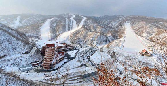 Lộ diện khu trượt tuyết tuyệt đẹp ở Triều Tiên-3