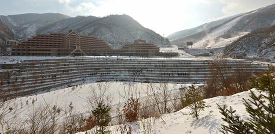 Lộ diện khu trượt tuyết tuyệt đẹp ở Triều Tiên-5