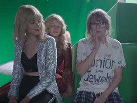 Hóa ra đây là cách Taylor Swift lơ lửng trên không trong MV 'hóa rắn'!