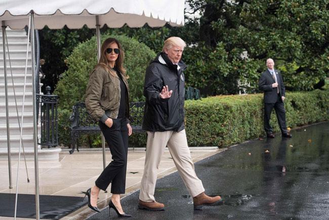 6 bộ cánh đẹp không thể chê của Melania Trump nhưng vẫn bị dân Mỹ chỉ trích tơi bời-5