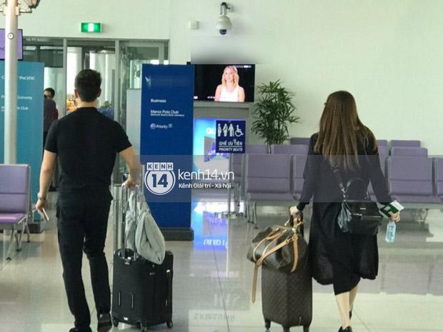 Hà Hồ - Kim Lý tiếp tục bị bắt gặp cùng nhau lên đường sang New York-2