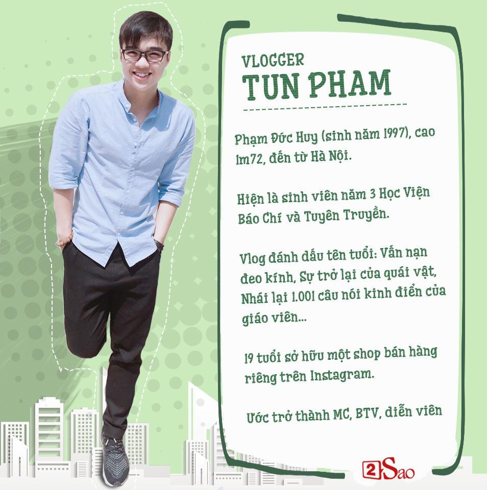 Cười té ghế với thử thách giả giọng người nổi tiếng của Vlogger Tun Phạm-1