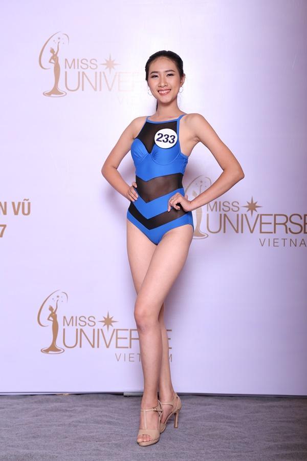 Đã tìm được 10 nhan sắc đầu tiên lọt vào bán kết Hoa hậu Hoàn vũ Việt Nam 2017-10
