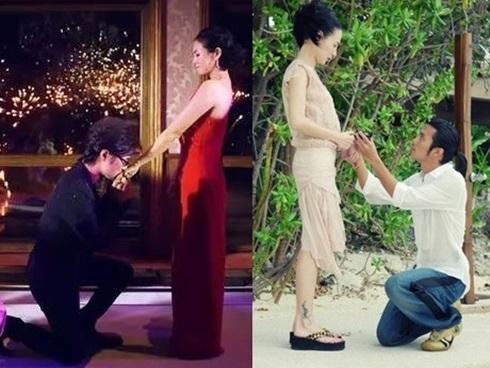 Sao Hoa ngữ cầu hôn: Người tiêu tốn tỷ đồng, kẻ giản đơn ngờ nghệch