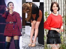 IU diện váy ngắn cũn - Yoona nổi bật nhất street style Hàn tuần qua