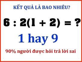 Quizz: Những bài toán lớp 5 làm 'hại não' người lớn