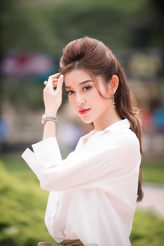 Huyền My được dự đoán lọt top cao trong cuộc đua tranh Miss Grand International 2017-2