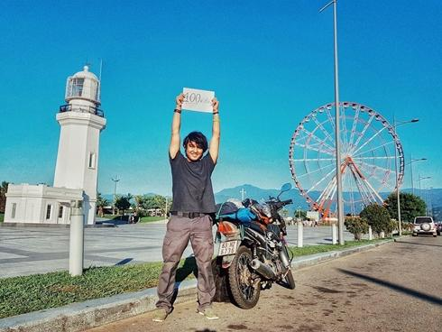 Hơn 100 ngày đầu tiên đi khắp thế giới của chàng trai Việt