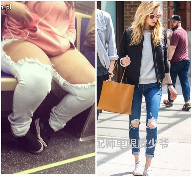 Xin đừng mặc quần jeans rách rưới một cách vô tội vạ-7