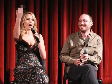 Jennifer Lawrence chửi thẳng khán giả chê phim Mother! trên sóng truyền hình-1