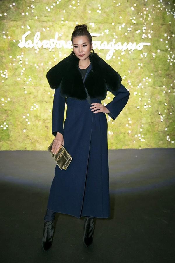 Không cần phô trương, Thanh Hằng chọn thời trang đẳng cấp ở Milan Fashion Week-7