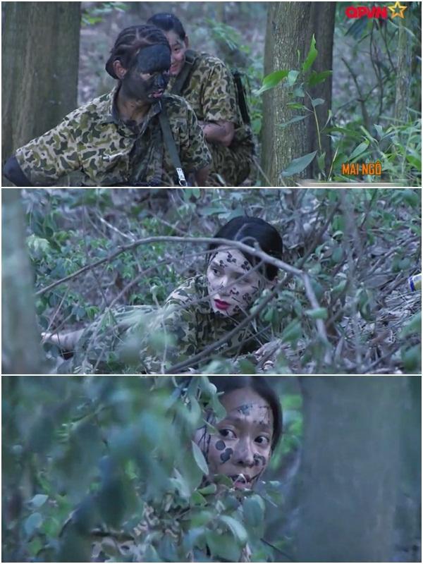 Nghe Hương Giang Idol hô hiệu lệnh trong quân đội, Mai Ngô cười như bị ai thọc lét-6