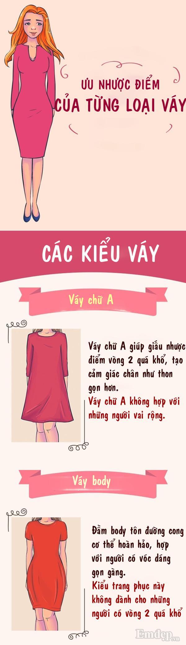 Ưu nhược điểm to đùng của 10 kiểu váy bạn mặc hàng ngày-1