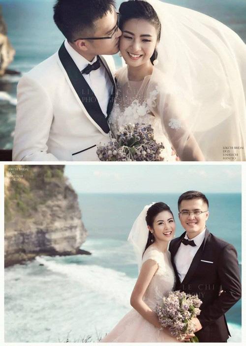Bất ngờ rò rỉ ảnh cưới, Hoa hậu Ngọc Hân sẽ lên xe hoa trong thời gian tới?-1