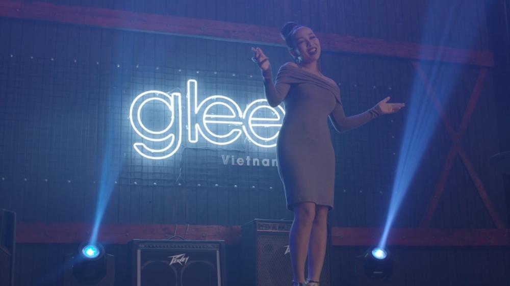 Thảo Trang xuất hiện chớp nhoáng vì không muốn cướp diễn đàn các thành viên Glee-1