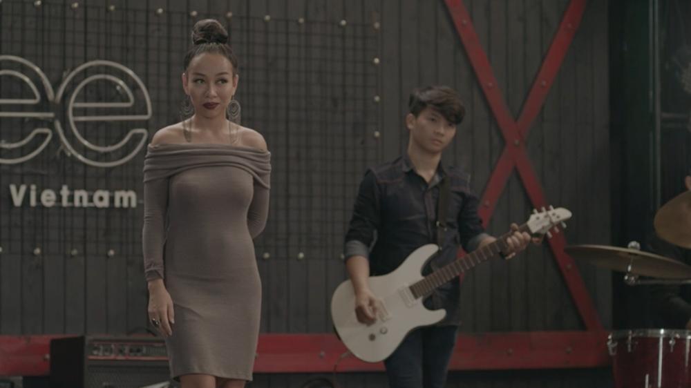 Thảo Trang xuất hiện chớp nhoáng vì không muốn cướp diễn đàn các thành viên Glee-2