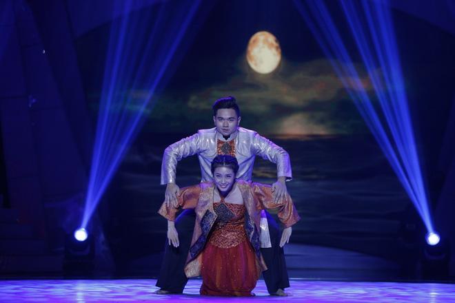 Bước nhảy ngàn cân: Chàng béo xuất thần hóa thân thành nghệ sĩ hài Hồng Vân phiên bản nam-4