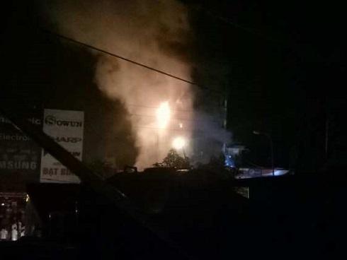 Hà Nội: Cháy nhà 5 tầng lúc nửa đêm, 2 chị em tử vong