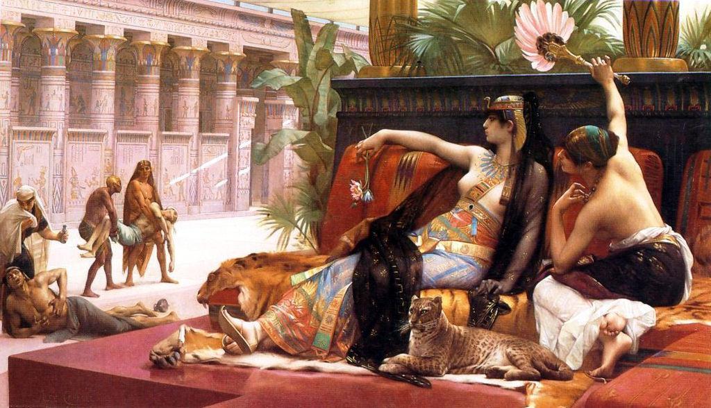 Vỡ mộng với nhan sắc thực của mỹ nhân nghiêng nước nghiêng thành - Nữ hoàng Cleopatra-2