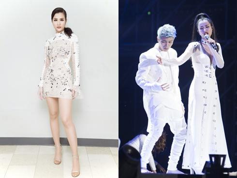 Bóc mác trang phục được khen ngợi của Đông Nhi tại Asia Song Festival 2017
