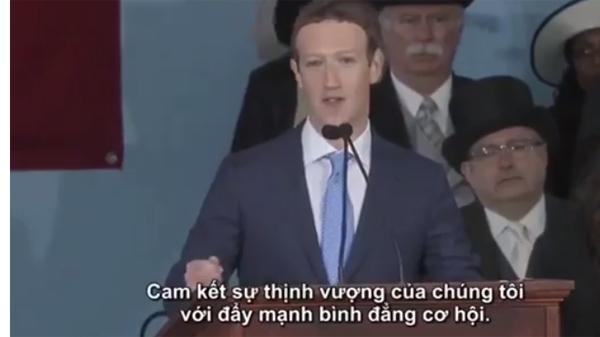 Sinh viên Harvard đội mưa nghe bài phát biểu về khởi nghiệp của 'ông chủ Facebook'-1