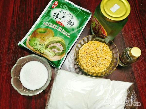 Cách làm bánh trung thu dẻo nhân trà xanh ngon chuẩn vị-2