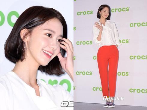 Yoona xén tóc nhưng vẫn giữ phong độ đỉnh cao 'nữ thần'