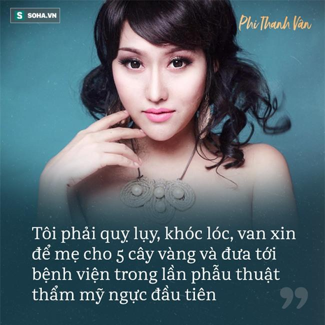 Phi Thanh Vân: Tôi từng bị giật quần áo, đuổi ra ngoài đường vì quá xấu-4