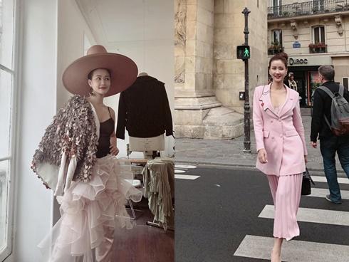 Vừa 'đấu khẩu' chán chê với Tâm Tít xong, Maya quyết định sang ngao du Paris Fashion Week