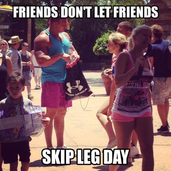 Chết cười với những thánh tập gym nhưng không thèm tập chân-3