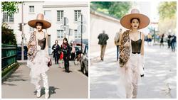 Không dừng 'đại chiến' với Tâm Tít, Maya vẫn đẹp lộng lẫy ở Paris Fashion Week