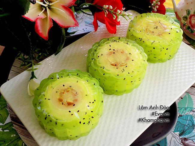 Lạ miệng với bánh Trung thu thạch phô mai kiwi-13