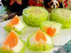 Lạ miệng với bánh Trung thu thạch phô mai kiwi
