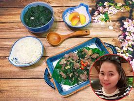 8x đảm đang khiến chồng mê mẩn: 'Có vợ nấu ăn là vui lắm rồi nên không được chê'