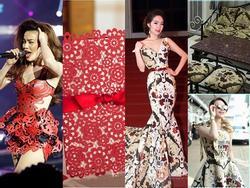 Những chiếc váy dị biệt làm nên tên tuổi mỹ nhân Việt