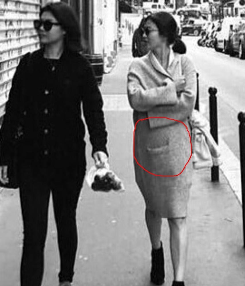 Hình ảnh Song Hye Kyo mặt bầu tròn trĩnh làm dấy lên nghi ngờ cô dâu đã có tin vui-5
