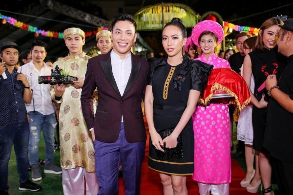 Dàn sao Việt đội mưa đến mừng đám cưới của Diệu Nhi-3